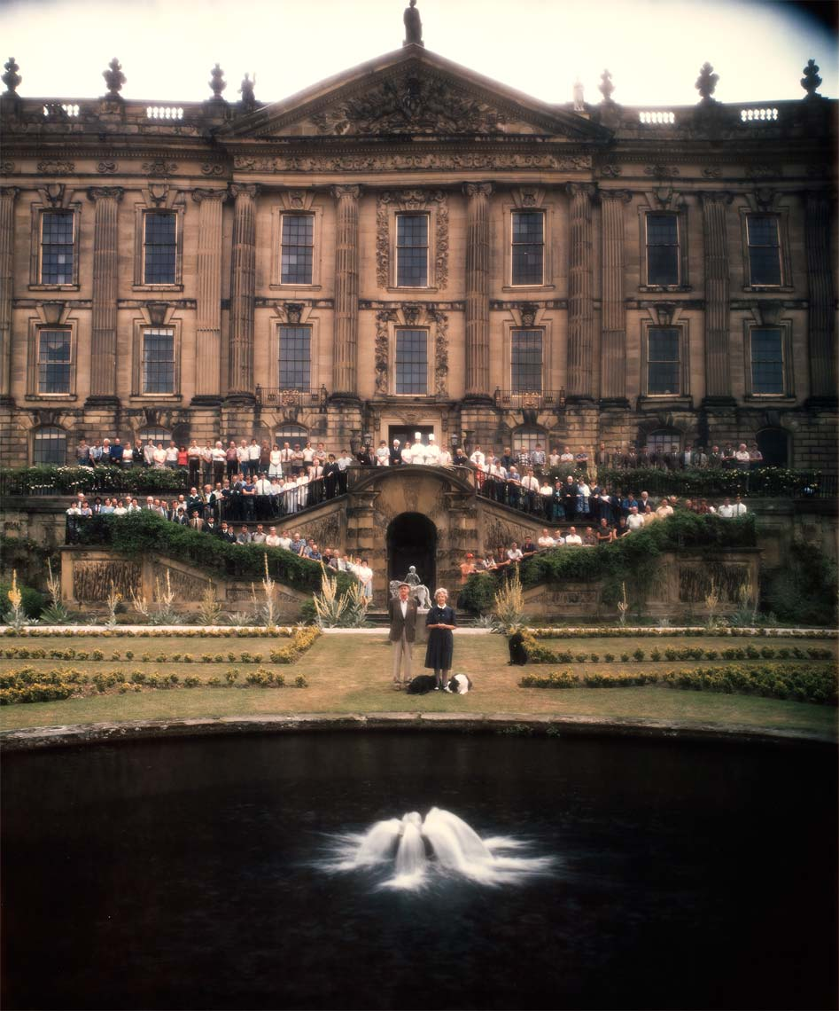 DUKE AND  DUCHESS OF DEVONSHIRE; CHATSWORTH, DERBYSHIRE