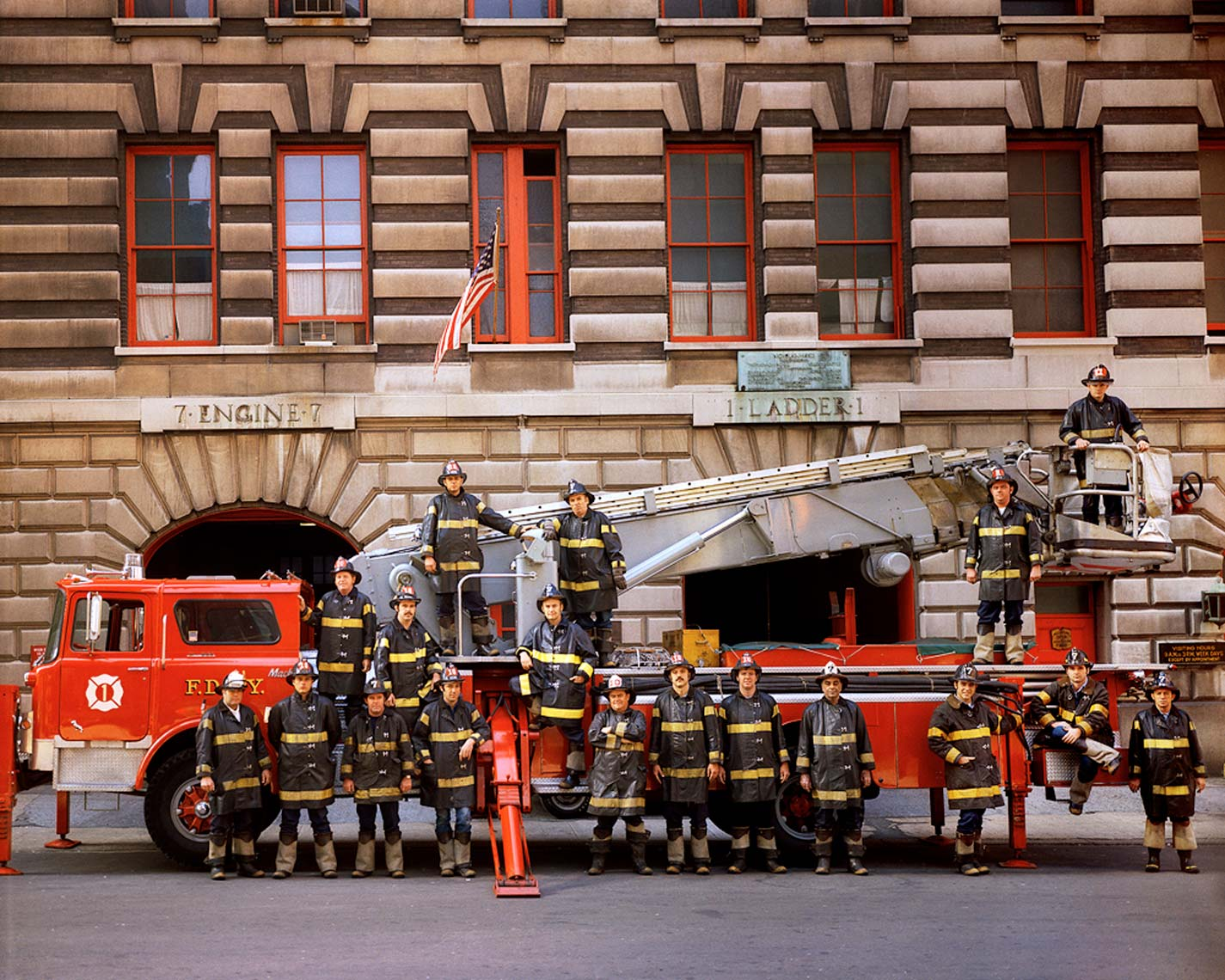 FDNY - ENGINE COMPANY #7, LADDER #1
