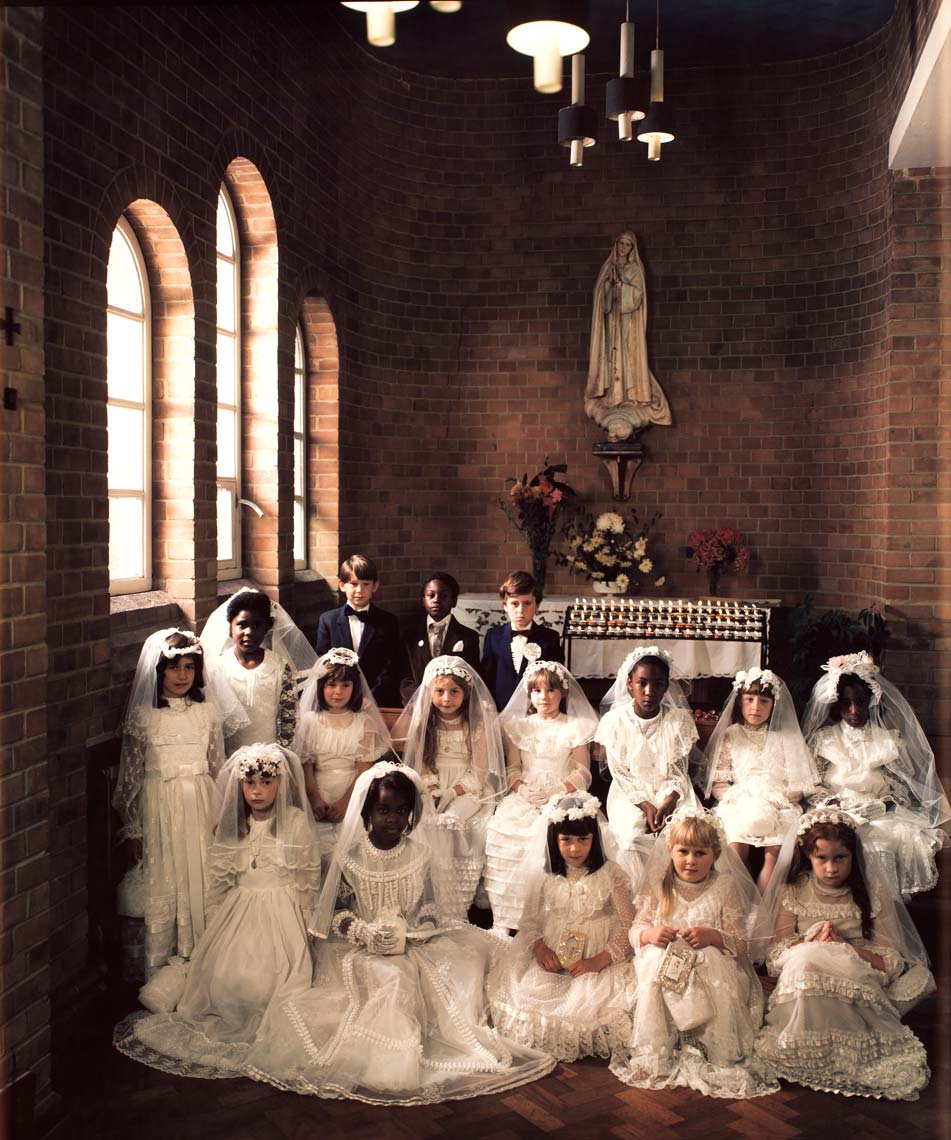 FIRST COMMUNICANTS; OUR LADY OF FATIMA, LONDON