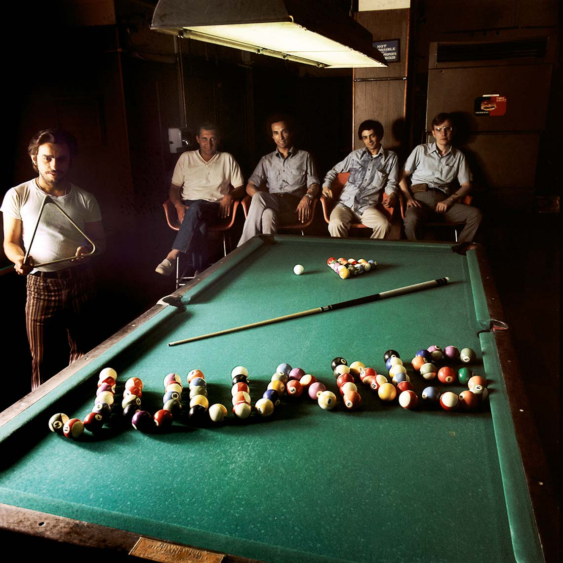 JULIANS POOL HALL; NYC