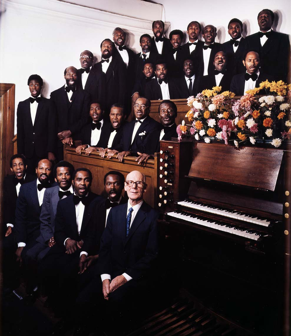 MALE VOICE CHOIR - SEVENTH DAY ADVENTISTS CHURCH; HOLOWAY, LONDON