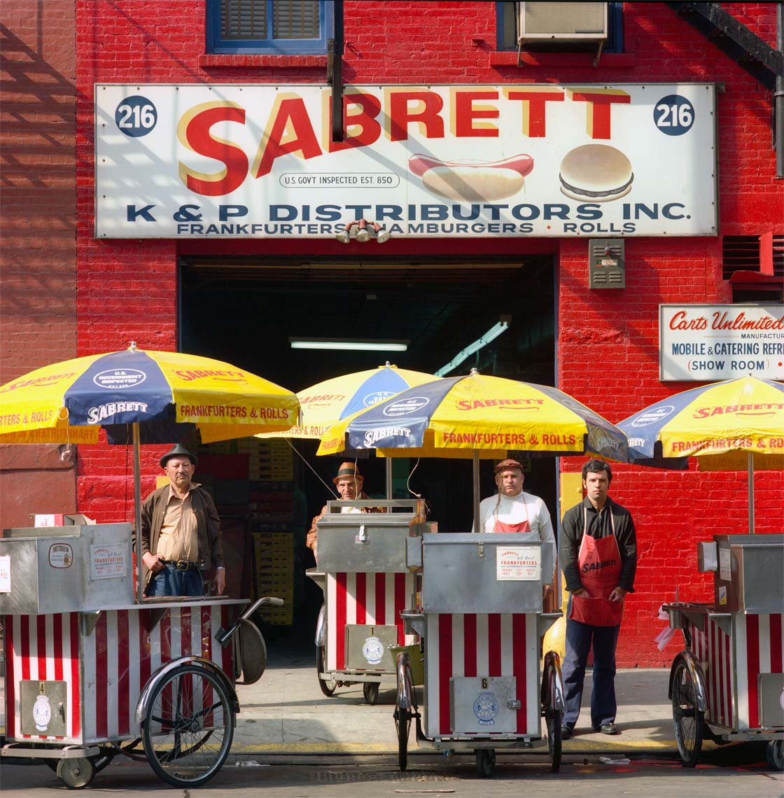 SABRETT HOT DOG VENDORS; NEW YORK, NY